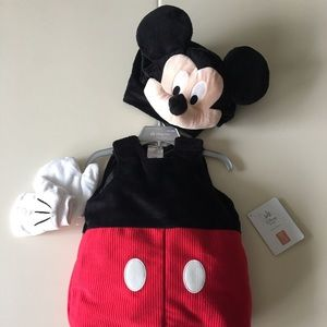 New Disney Mickey Mouse Toddler costume 12-18m